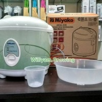 Rice cooker Magic com Miyako 1 8 Liter MCM 508 Terlaris