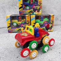 mainan mobil gila jungkir balik tumbling car anak edukatif jeep Funny