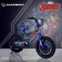 sepeda bmx marvel avenger sepeda anak element 16 inch
