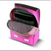 Tas sekolah keren Ransel Laptop ES7201 Warna Pink Gratis Rainc Diskon