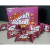 cannon ball coklat kunyah