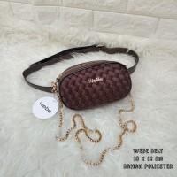 Limited Edition Tas Wanita Murah Webe Belt Coklat