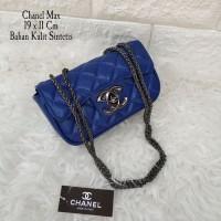 Clearance Sale Tas Wanita Murah Chanel Max Biru
