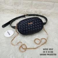 Limited Edition Tas Wanita Murah Webe Belt Hitam