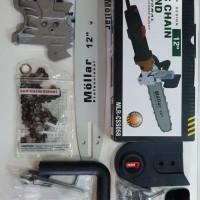 PRES Chainsaw Mini chain saw 12 inch Gergaji Potong Kayu Gerinda bitec