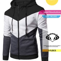 Jaket Sweater Hoodie Revolution