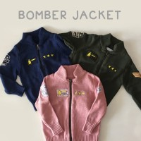 HELLO MICI Knitwear Jaket Bomber