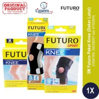 Paket 3M Futuro Knee - Deker Lutut (76587EN, 09039ENT, dan 47550EN)