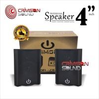 Harga speaker 4 inch pasif crimson cr 402 2 way   antitipu.com