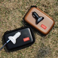 Car Charger Flash New + Pouch