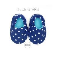 Blue Stars Baby Shoes   Sepatu Bayi