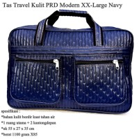 Tas Travel Kulit PRD Modern XX-Large navy