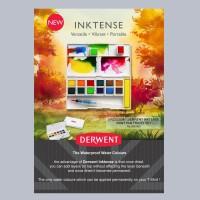 Derwent Inktense Paint Pan Travel Set 12 colour