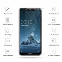 Tempered Glass 2.5D Nokia 5.1 Plus / Nokia X5 Anti Gores Screen Guard