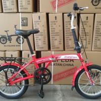 Sepeda Lipat 16 Evergreen murah promo