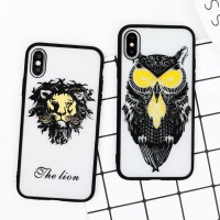 Animal Case Oppo A5S Softcase TPU+Clear Back Cover Hardcase