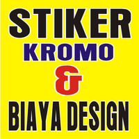 STIKER KROMO & BIAYA DESIGN