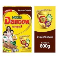 Harga dancow instant cokelat 800g fortigro coklat excelnutri susu | Hargalu.com