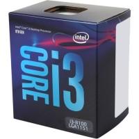 Processor Intel Core i3 8100 Coffee Lake Quad-Core 3.6 GHz