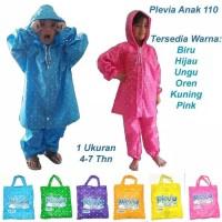 Jas Hujan Anak Star Plevia Kids 110 Setelan Murah (Sohibnya Kido)
