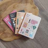 Buku Catatan Kecil Indonesian Food Series Plain Pocket Notes Unik