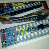 KIT Audio Profesional Amplifier YAMAHA MX 5000 Plus TR 1500 Watt