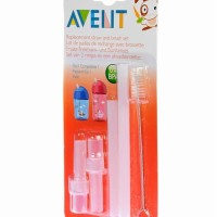 Jual Philips Avent Replacement Straw Set Aven Sedotan Botol 260 ml 360 ml Murah