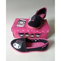 Sepatu Anak Wanita Flatshoes Sepatu Sekolah Perempuan TK Cewek Cantik