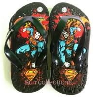 D001 Sandal Anak Superman Hero (1) Kg 15 pasang