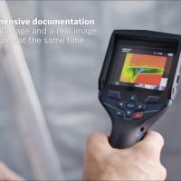 Alat pengukur suhu sensor GTC 400 C bosch GTC400C jarak kerja 0-3M
