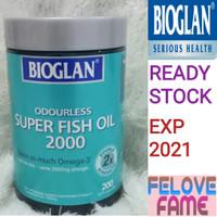 Bioglan Odourless Super Fish Oil 2000 mg 200 Capsules