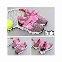Sepatu Anak Perempuan Lampu Led Pinky Sport Sketcher (ZH-SS015)