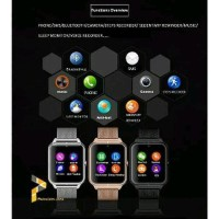 Jam Tangan Hp Smartwatch U11 Smart Watch Z60 BYsma706