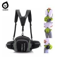 Ambigo Tas Olahraga Lari Multifungsi - Pouch Running Belt Waist Bag