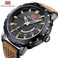 MINIFOCUS Brand Luxury Quartz Men Watch Man Fashion Casual Military Ar