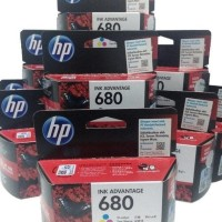 New Hp 680 Original Ink Colour / Warna Printer 2135 3635 3835 4675