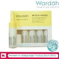 Wardah Natural Daily Witch Hazel Purifying Serum 5x5ml