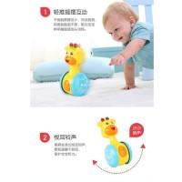 Mainan bayi baby rattle kantung 355-4