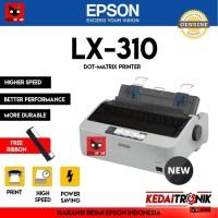 Printer Dot Matrix EPSON LX-310 9 Pin Continous Form LX310 LX300 300