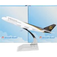 Diecast Die Cast Miniatur Pesawat UPS Passenger Aircraft Airplanes