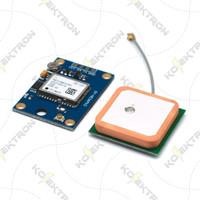 GPS Module Ublox GY-NEO6M V2 dengan Antenna GY-NEO6MV2 Serial Arduino