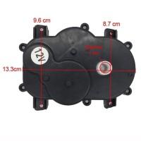 Gearbox Setir Stir + dinamo 6v mobil motor mainan aki model 1