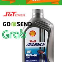 Oli Shell Advance Ultra 1L - 10W-40 - API SN; JASO MA2