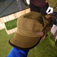 Topi Eiger Comando Metal Cap Green Hijau T477 03 Original Keren Cowok