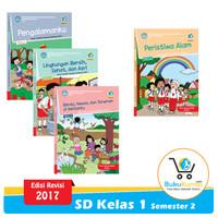 Paket Buku Tematik SD Kelas 1 Semester 2 K13 Revisi 2017 (Tema 5-8)