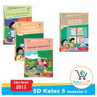 Paket Buku Tematik SD Kelas 5 Semester 2 K13 Revisi 2017 (Tema 6-9)