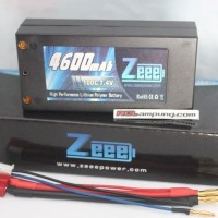 Zeee 4600mAh 2s 7.4V 100C Lipo Battery Shorty Pack