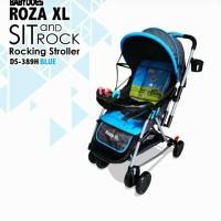 Stroller Kereta Bayi DOES 389 ROZA XL