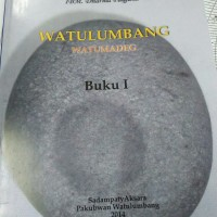 Buku Watulumbang watumedag vol 1