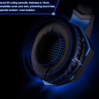 Harga kotion each g2000 gaming headset super bass with led light   Pembandingharga.com